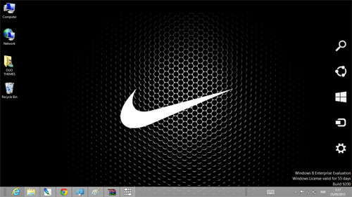 Nike Logo Theme For Windows 7 And 8