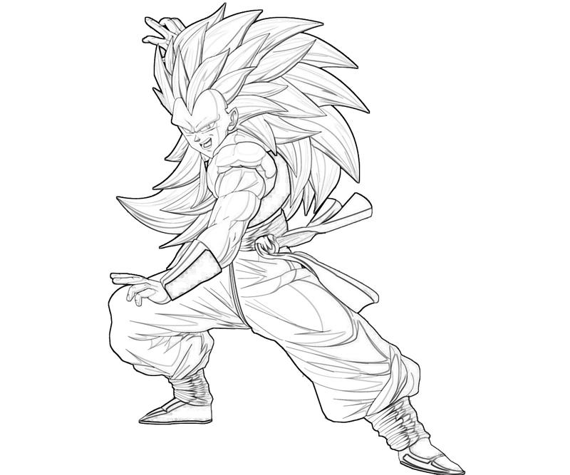 goten coloring pages - photo#18