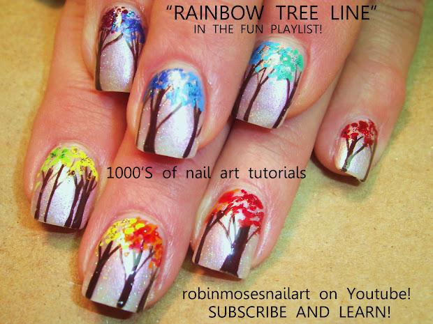 """robin moses nail art """"neon"""