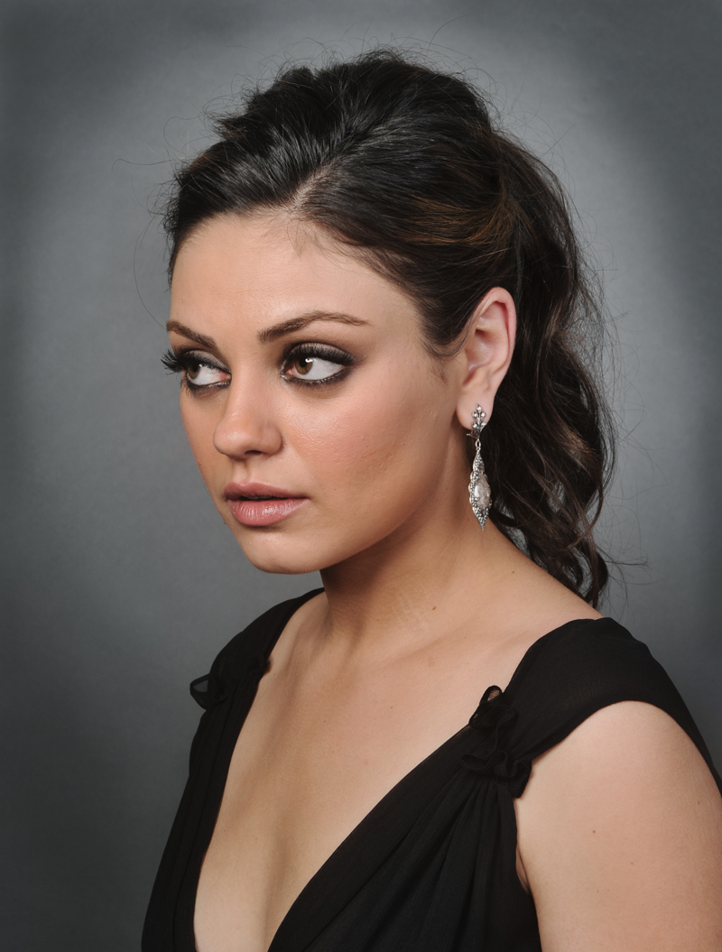 Hairstyles Vintage Mila Kunis Haircuts 2012 Pictures