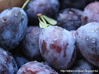 szilva, kék szilva, plum, szilva hatásai
