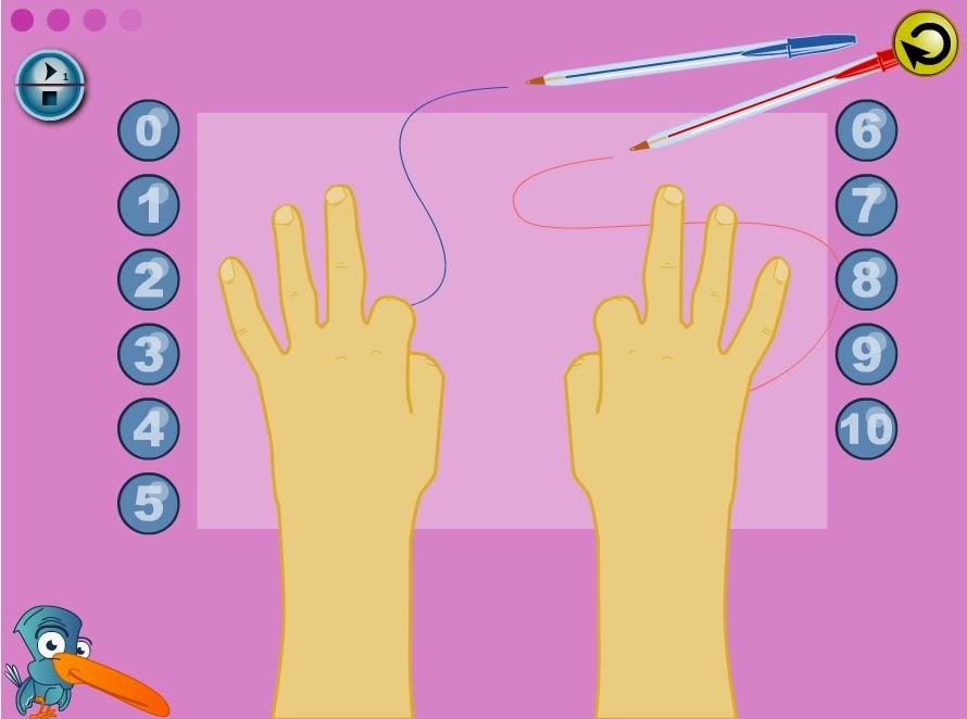 ¿Quieres contar dedos?
