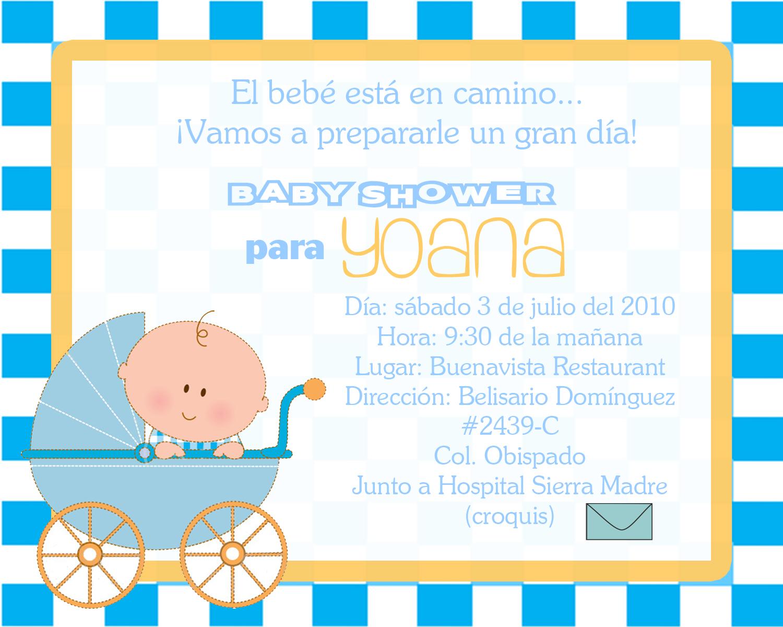 Invitaciones Baby Shower Niño ~ Invitaciones para baby shower nino car interior design
