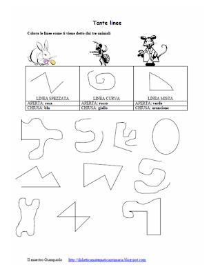 Didattica matematica scuola primaria le linee classe terza for Maestra renata