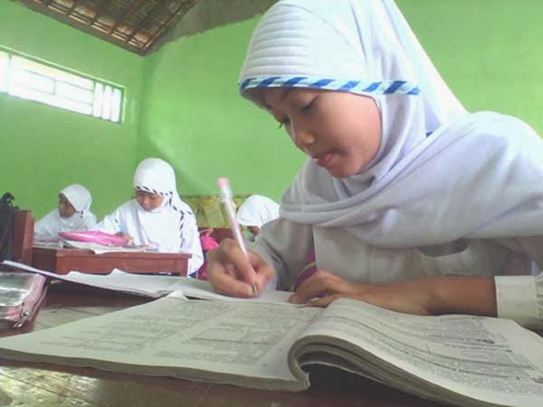 siswa kelas 6 MI Kalimulyo
