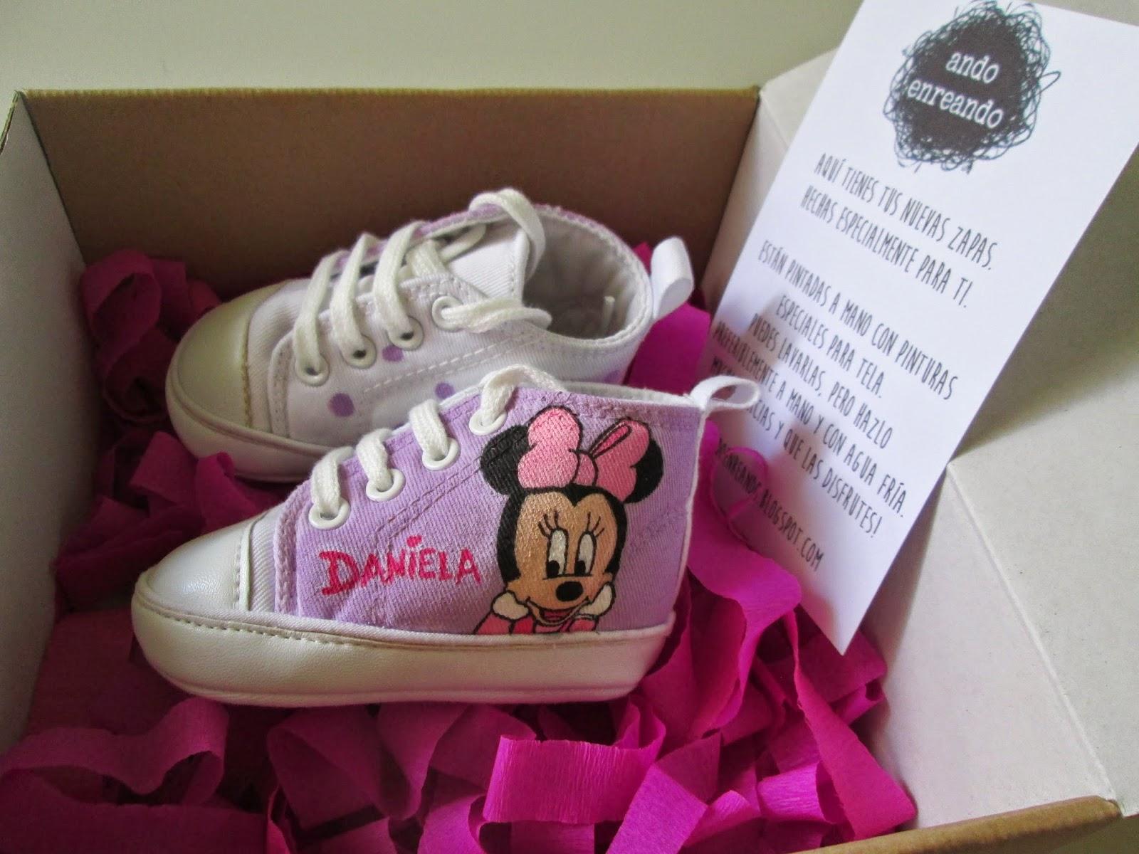 zapatillas bebe personalizadas