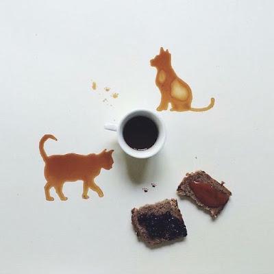 Chó và mèo cafe