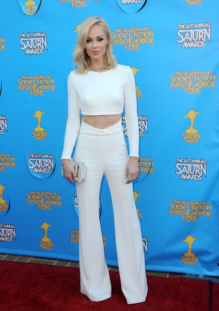 Actress @ Laura Vandervoort - The 41st Annual Saturn Awards in Burbank