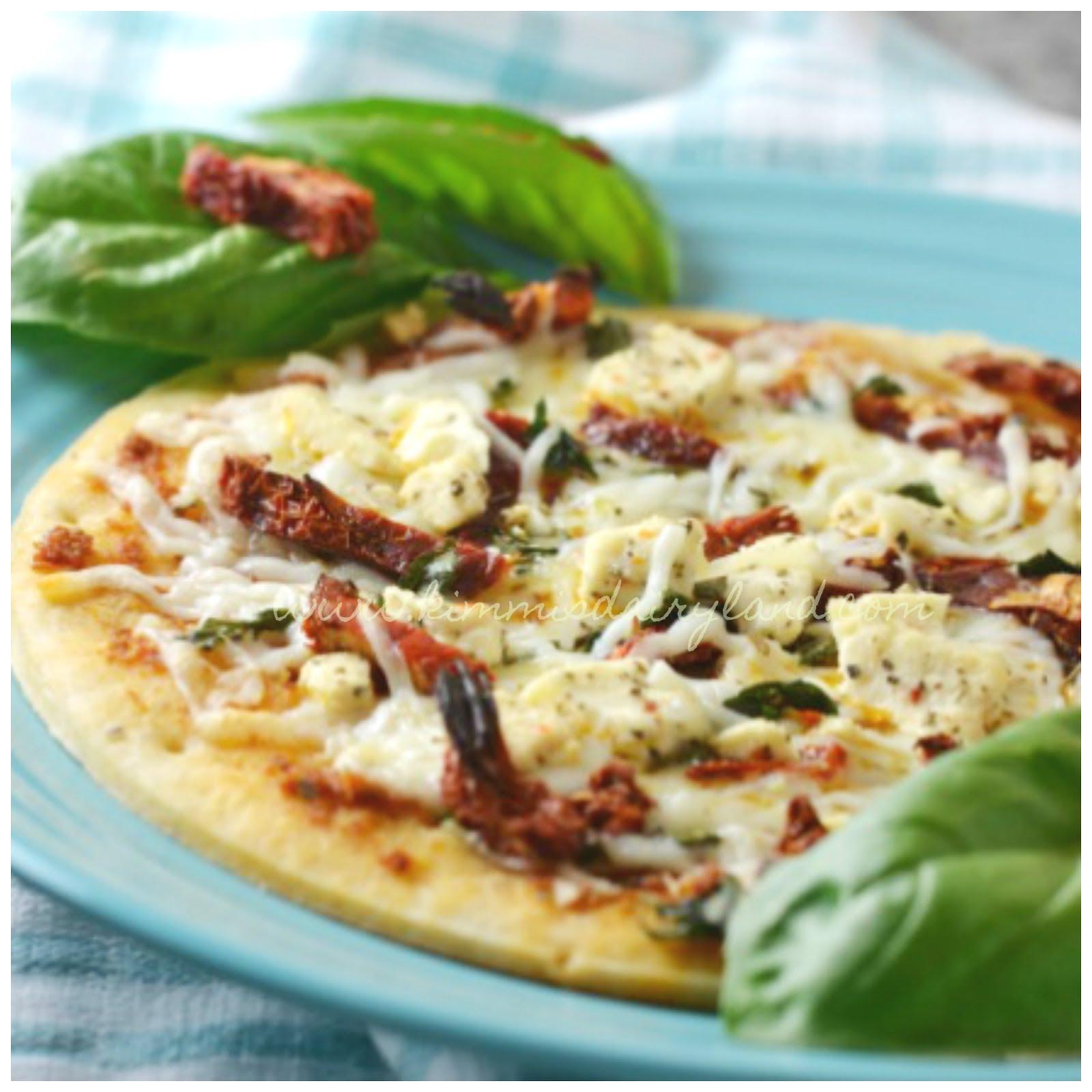 Sun Dried Tomato Pizza