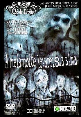 Filme Zé do Caixão - à Meia-Noite Levarei Sua Alma VHSRip RMVB Nacional