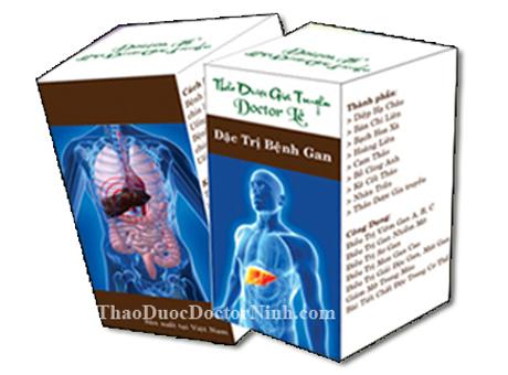 Thảo dược gia truyền Doctor Lê đặc trị các bệnh về gan