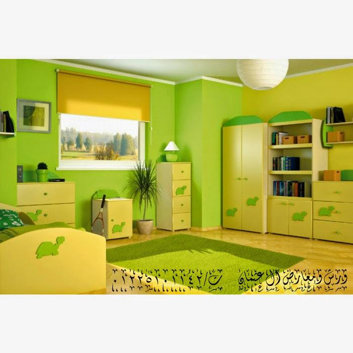 أكبر تشكيلة من غرف الاطفال متعددة الالوان (دهان لاكيه مط) « ورش