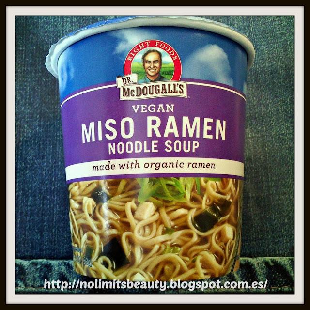 Dr. McDougall's, Miso Ramen, 1.9 oz (54 g)