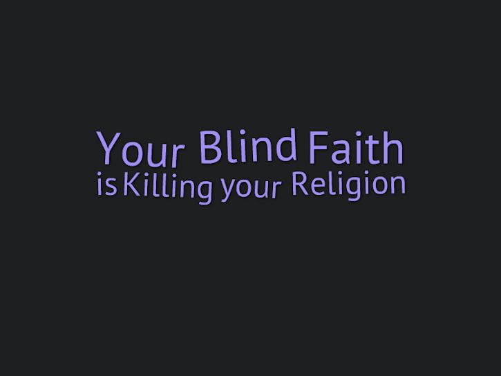 Don't kill Christianity...
