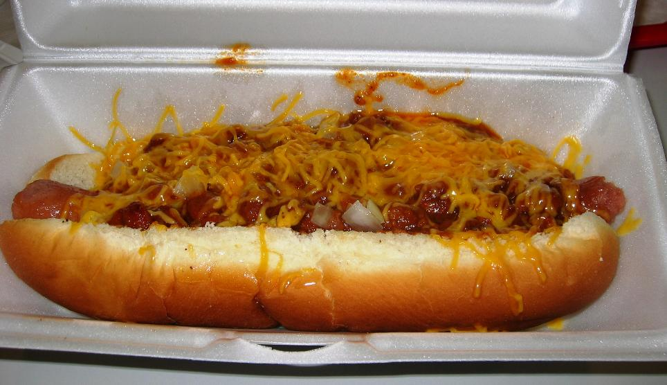Bison Chili Cheese Dogs Recipe — Dishmaps