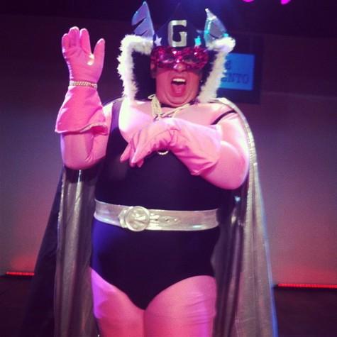 """... Gay, criado por Jô Soares em 1982 para o programa """"Viva o gordo Viva"""