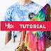 Tutorial da técnica Tie Dye para você fazer em casa