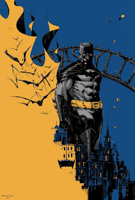 """Batman Eternal"" Screen Print by Dustin Nguyen x Geek Art x French Paper Art Club"