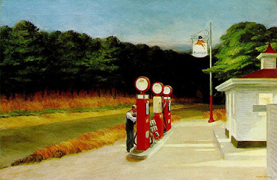 Gasolinera. Edward Hopper. 1940