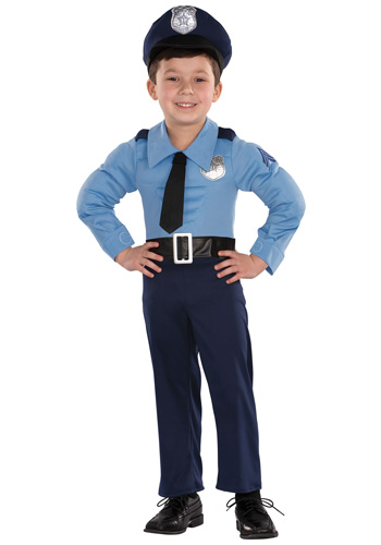 Mini fashionista fantasia para o carnaval meninos - Police officer child costume ...