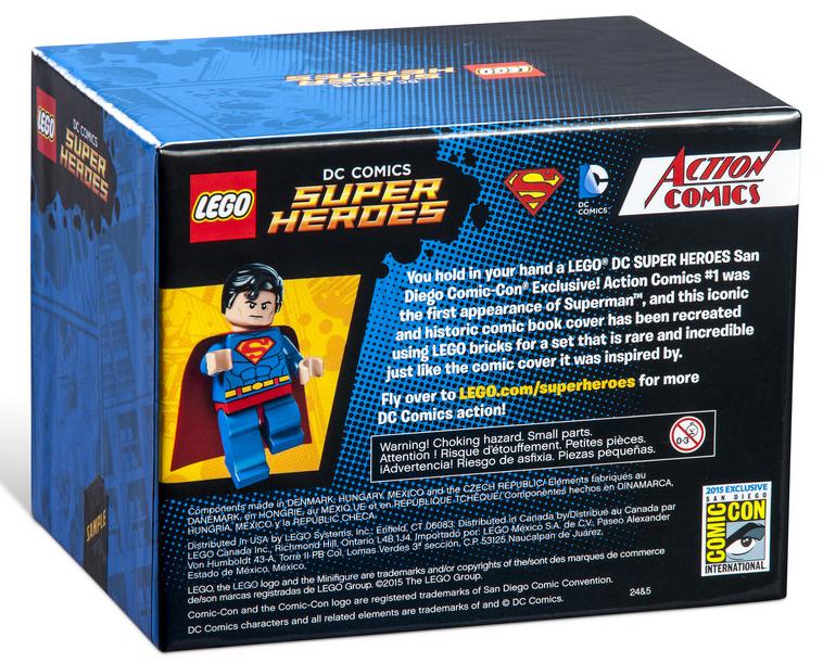 The Brickverse: Lego's 2015 Comic Con exclusive sets