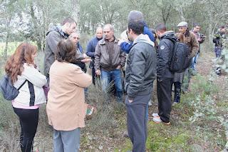 O CERVAS participou no 1º Passeio Micológico da ADRC Fornotelheiro