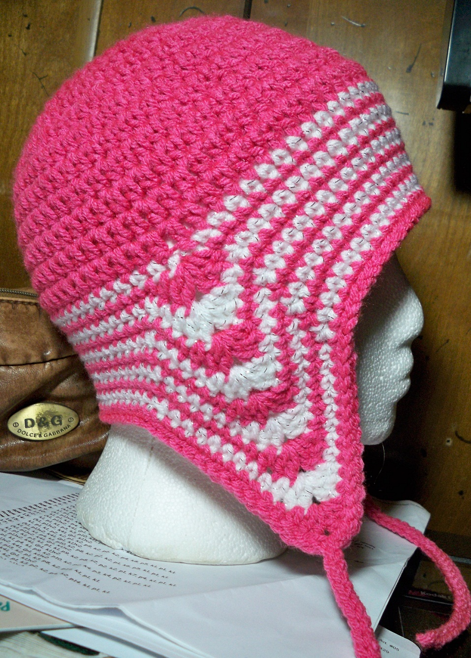 Easy Knitting Pattern Hat With Ear Flaps : JR Crochet Designs: 2 New Designs just in time for Christmas