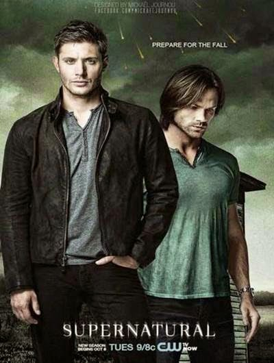 Supernatural 9ª Temporada Completa 720p + Legenda