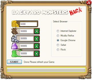 backyard monsters hack