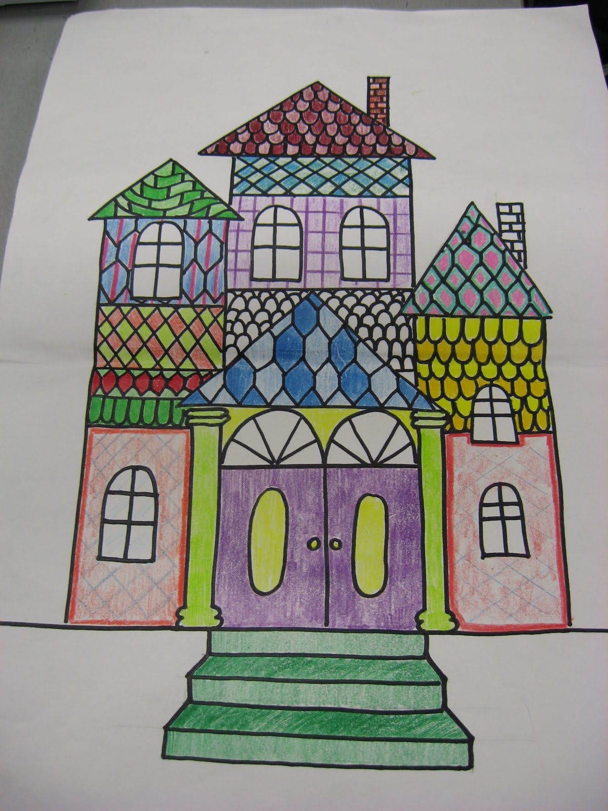 Classroom Display Ideas Victorians ~ Sharpiewoman painted ladies of the victorian era