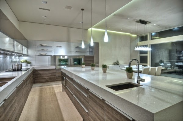 Exclusive led ceiling lights and light fixture for modern for Kitchen led lighting