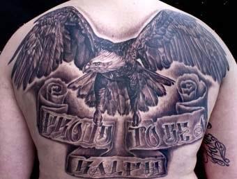 Ideia de tattoo com asas
