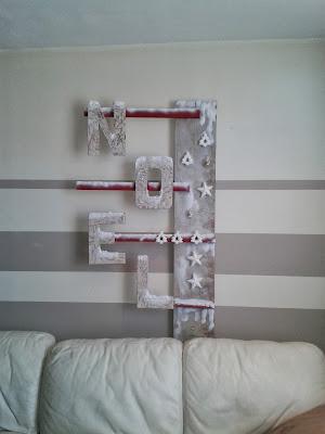 Decoration de noel 2013 avec de la recup - Decoration de noel avec de la recuperation ...
