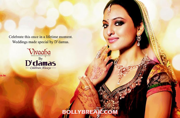 Sonakshi Sinha by Vivaaha for D'damas Jewellers - Sonakshi Sinha by Vivaaha for D'damas Jewellers