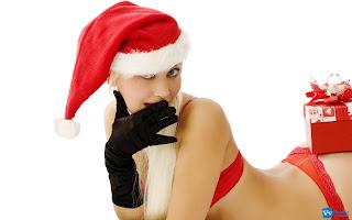 Christmas Girl Wallpaper HD