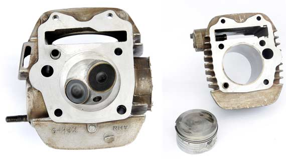 DATA MODIFIKASI: HONDA KHARISMA: PISTON: HONDA TIGER 63,5mm STANG  title=