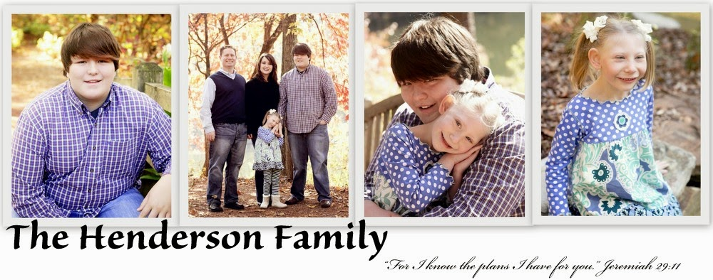 The Henderson Family - blessed with miracles!