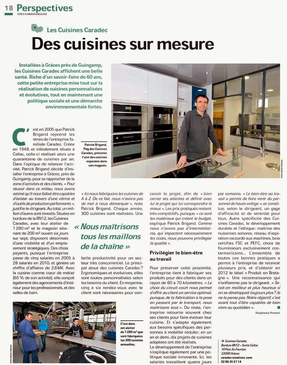 page 18 cotes d'armor magazine 141 avril 2015