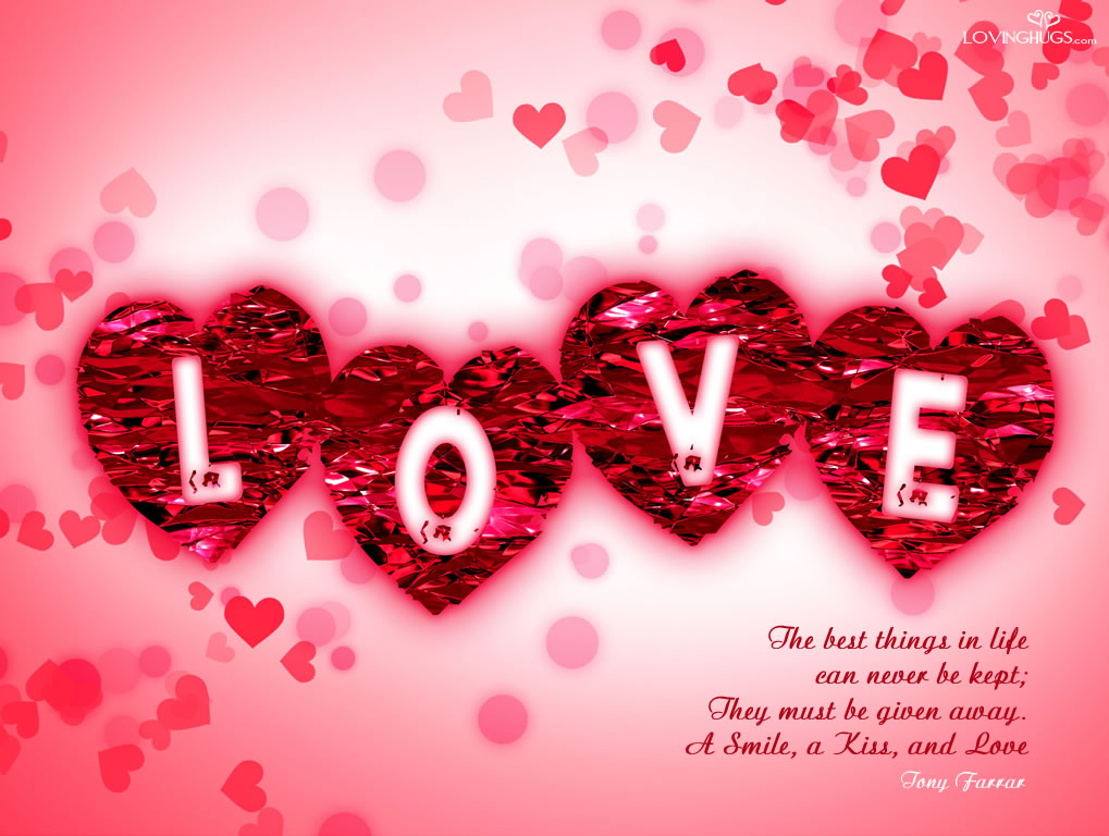 Wallpaper Love And cute : Beautiful Love Wallpaper