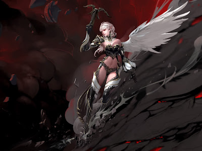 the-defeat-of-a-demon-angel-with-white-wing-and-a-weapon-wallpaper