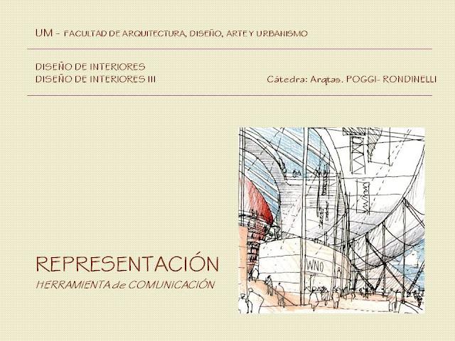 Facultad de arquitectura dise o arte y urbanismo dise o de interiores 3 la representacion - Carrera de arquitectura de interiores ...