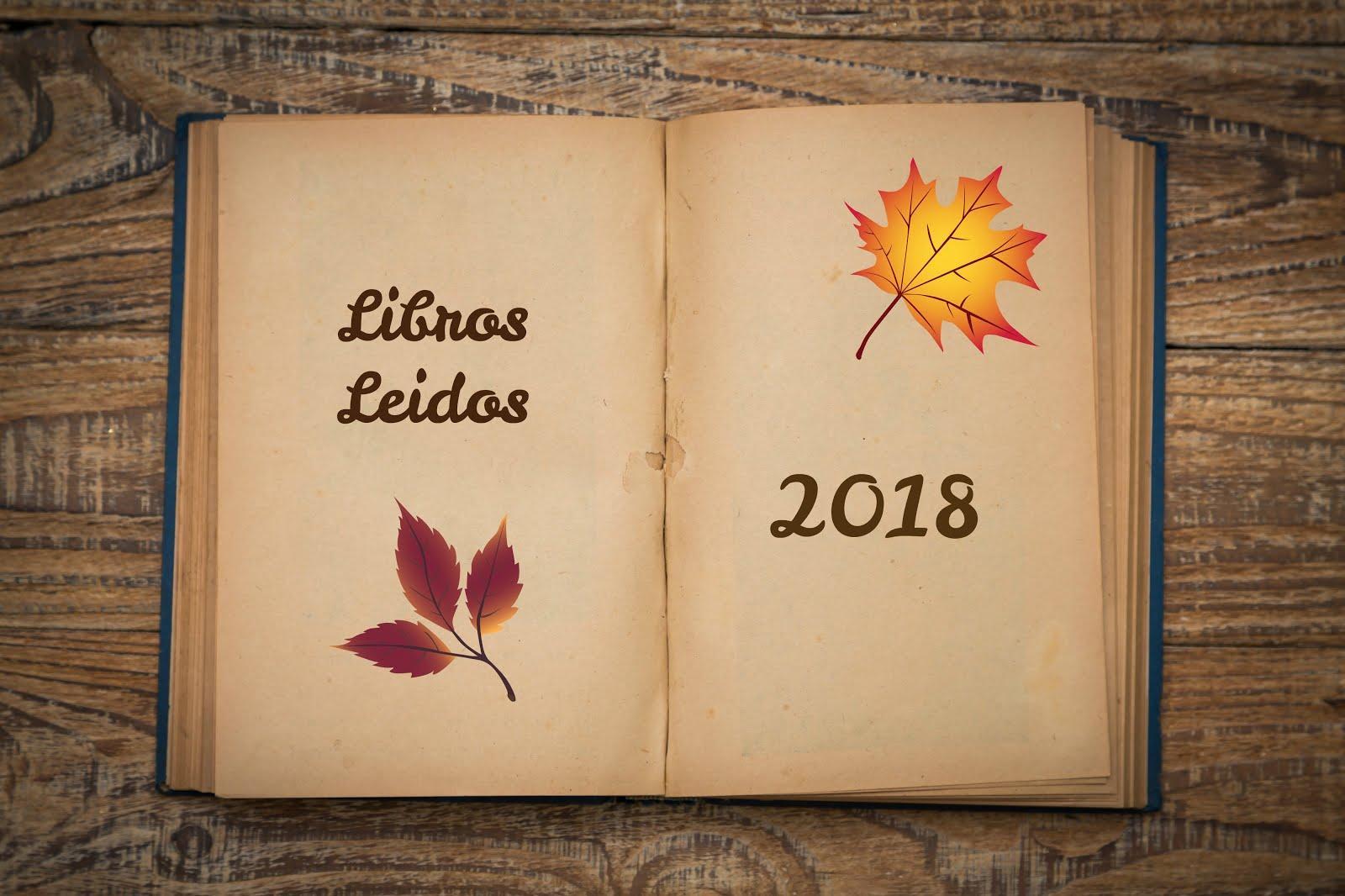 LIBROS LEIDOS EN 2018