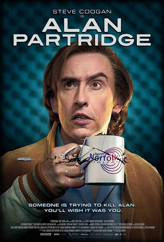 La película Alan Partridge Alpha Papa