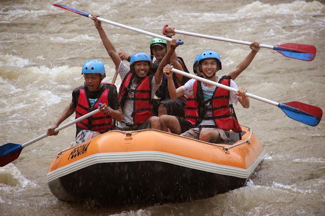 rafting, sungai elo
