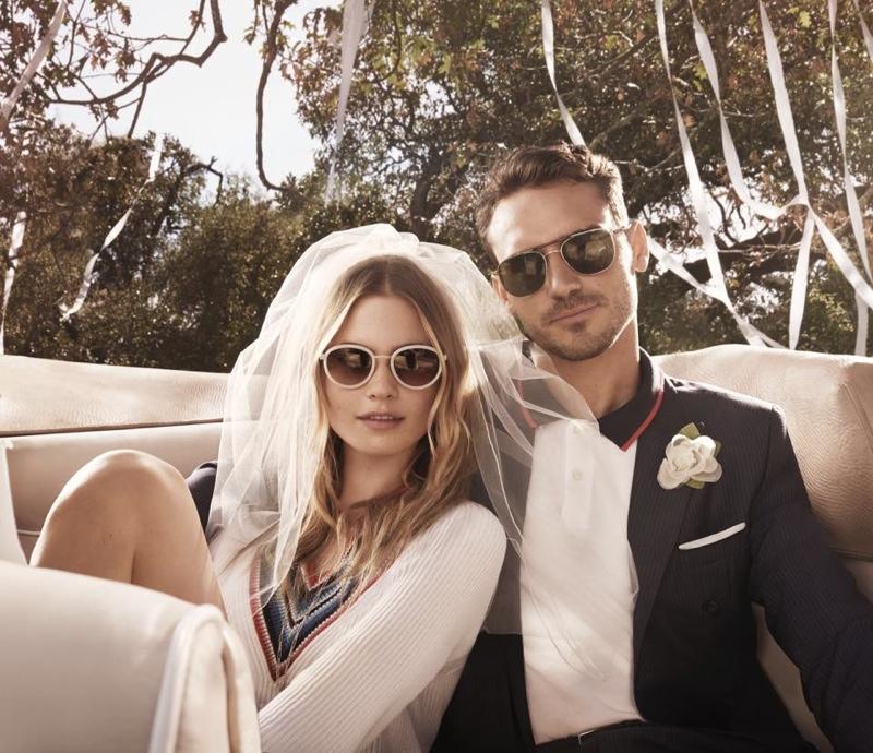 Tommy Hilfiger Eyewear Campaign 2015 starring Behati Prinsloo