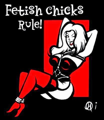 http://www.zazzle.com/fetish_chicks_rule_square_sticker-217966514864449883