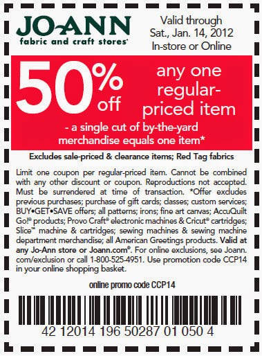 Joanns 60 coupons - Tgif coupons 2018