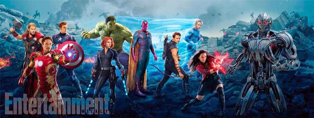 """[Sessão Pipoca] Minhas impressões do filme  """"Vingadores: Era de Ultron"""" Marvel"""