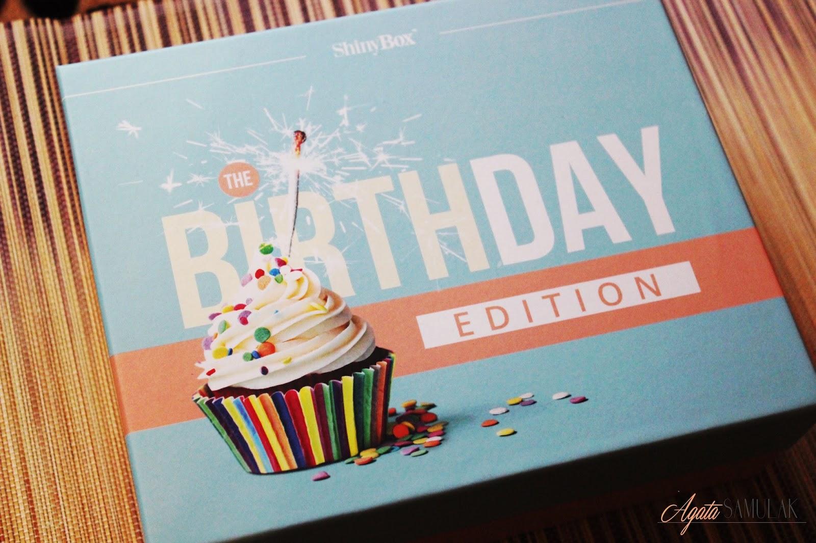Shinybox: Birthday Edition - czerwiec 2015
