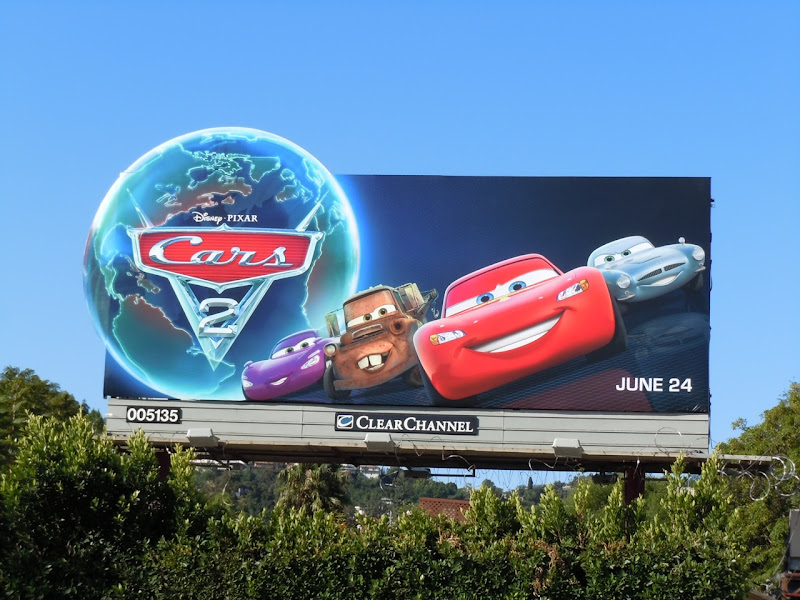 Cars 2 billboard